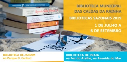 «Programação Bibliotecas Sazonais – Praia e Jardim - 2019»
