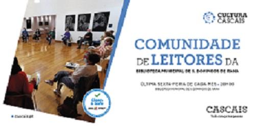 """Programação  """"Comunidade de Leitores da Biblioteca de S. Domingos de Rana"""""""