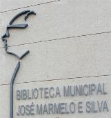 Logotipo da Biblioteca Municipal José Marmelo e Silva - Espinho