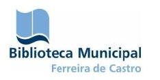 Lógotipo da Biblioteca Municipal Ferreira de Castro - Oliveira de Azeméis