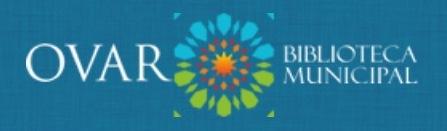 Logótipo da Biblioteca Municipal de Ovar