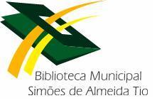 Logotipo Biblioteca Municipal Simões de Almeida (Tio)